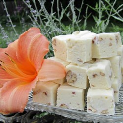 White Chocolate Fudge with Pecans Recipe