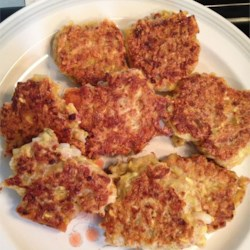 Yellow Squash Patties Recipe