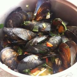 Patti's Mussels a la Mariniere Recipe