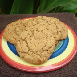 Healthier Big Soft Ginger Cookies Recipe
