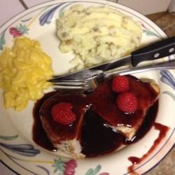 Pork Chops with Raspberry Sauce photo by serray_j ...