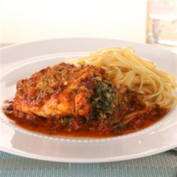 KRAFT RECIPE MAKERS Florentine-Stuffed Chicken Breasts Recipe