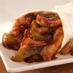 KRAFT RECIPE MAKERS Southwest Chicken and Bell Pepper Wrap Recipe