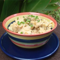 Creamy Garlic Chicken Pasta Recipe