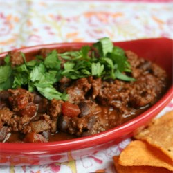 Beef Chili 5 Ways--Mexican Version