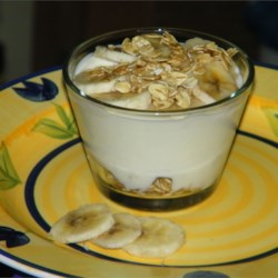 Banana Custard Scrunch Recipe