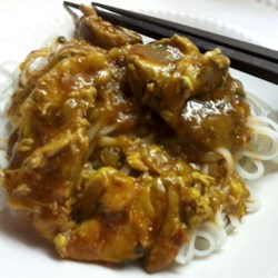 Chicken Adobo with Noodles Filipino-Mexican Fusion Recipe