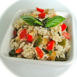 Sweet Bell Pepper Rice Recipe