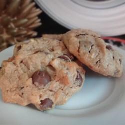 Flour Free Peanut Butter Chocolate Chunk Cookies