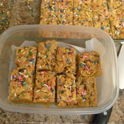 Peanut Butter Cornflake Crunch Bars Recipe