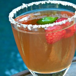 The BEST Raspberry Margarita! Recipe