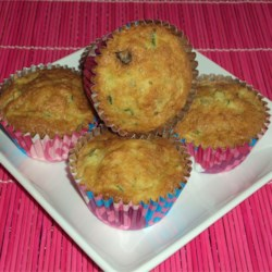 Zucchini Raisin Muffins Recipe
