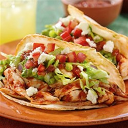 Chipotle Chicken Puffy Tacos Recipe