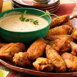 Mexican Baked Chicken Wings Recipe