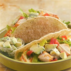 Photo of Grilled Fish Tacos with Creamy Avocado Topping by Old El Paso®