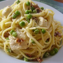 Loaded Chicken Carbonara Recipe