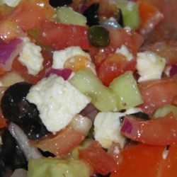 Oia Greek Salad Recipe
