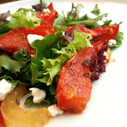 Roasted Tomato Salad Recipe