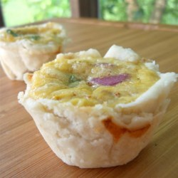 Marvelous Mini Mexican Quiches Recipe