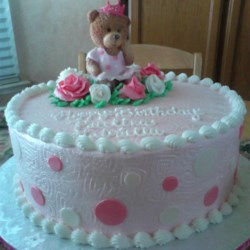 Paulina's first birthday cake