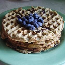 Blueberry Flavored Waffles Recipe