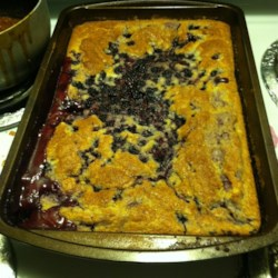 Baking Mix Blackberry Cobbler
