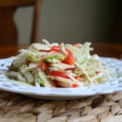 Easy Apple Coleslaw