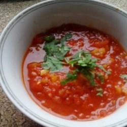 Tomato Onion Koora Recipe
