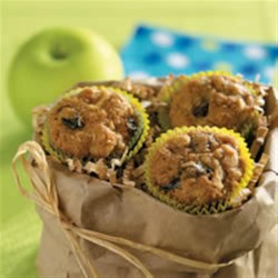 Miniature Apple Muffins Recipe