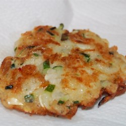 Zucchini and Feta Cheese Fritters (Kolokithokeftedes)