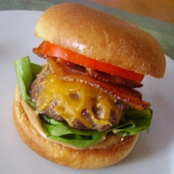 Peanut Butter Bacon Burger Recipe