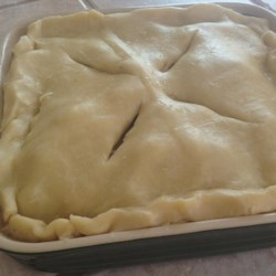 Steak and Ale Pie with Mushrooms Recipe