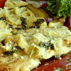 Chicken with Lemon Artichoke Sauce Recipe