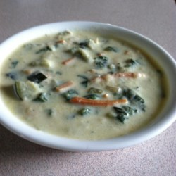 Light and Creamy Zucchini Soup Recipe