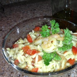 Shrimp Orzo Pesto Recipe