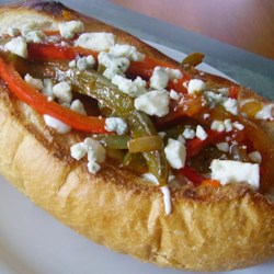 Buffalo Chicken Sausage and Pepper Sandwich Recipe