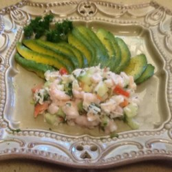 Seafood Stuffed Avocados Recipe