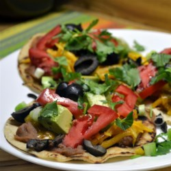 Fiesta Corn Tortilla Pizzas Recipe