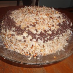 Coconut Pecan Cake Recipe