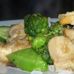 Chicken and Chinese Vegetable Stir-Fry Recipe