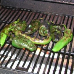 Roasting Chile Peppers