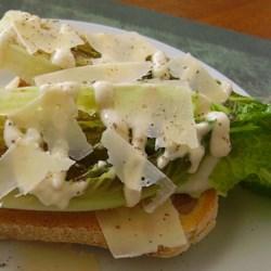 Knife and Fork Grilled Caesar Salad