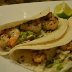 Guacamole Shrimp Wraps