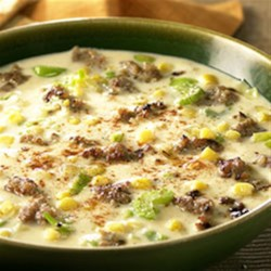 Sausage and Corn Chowder from Hatfield(R) Recipe