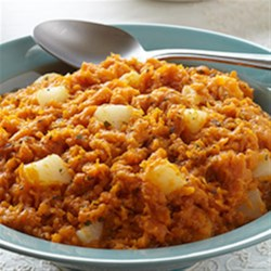 Photo of Mashed Sweet Potatoes with Pear, Sage and Browned Butter by Del Monte