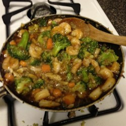 Easy Shrimp Vegetable Stir Fry