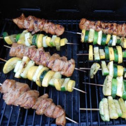 Slayer's Sweet, Tangy, and Spicy Kabobs Recipe
