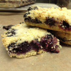 Blueberry Shortbread Bars Recipe