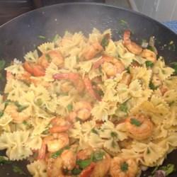 lime shrimp avocado pasta salad photos