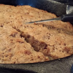Skillet Apple Brownie Recipe